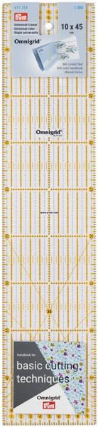 Prym Universal-Lineal Winkel 10 x 45 cm
