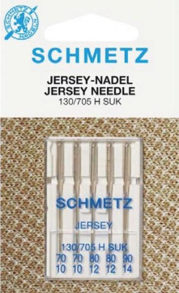 Maschinennadeln Schmetz 130/705 H SUK Jersey