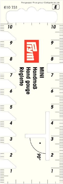 Prym Handmaß Mini 10 cm