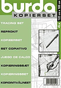 Burda Kopierset inkl. Stift