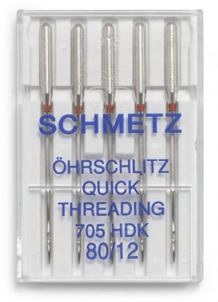 Maschinennadeln Schmetz 705 HDK Öhrschlitz