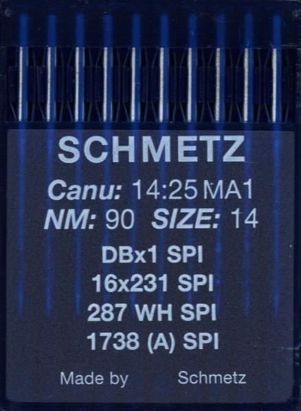 Maschinennadeln Schmetz 1738 SPI