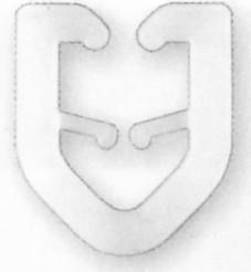 Prym T-Gleiter, 20 Stück
