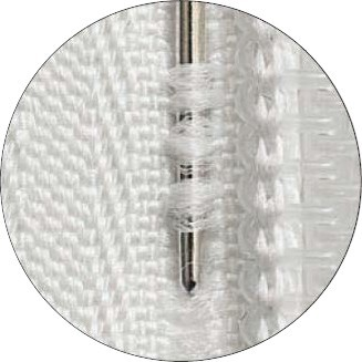 Prym Strickreißverschluss Perlon teilbar fein 70 cm