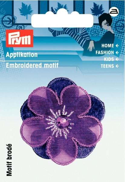 Prym Applikation Blume violett