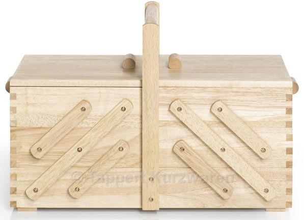 Prym Nähkasten Holz hell L (groß)