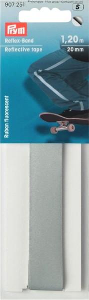 Prym Reflexband selbstklebend 20 mm, 1,2 m