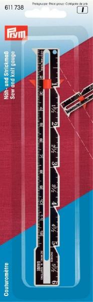 Prym Näh- und Strickmaß 12,5 cm / 6 inch