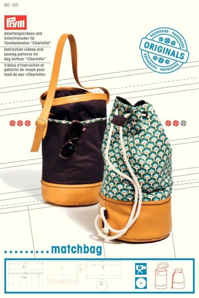 Prym Schnittmuster für Taschenboden Charlotte Matchbag
