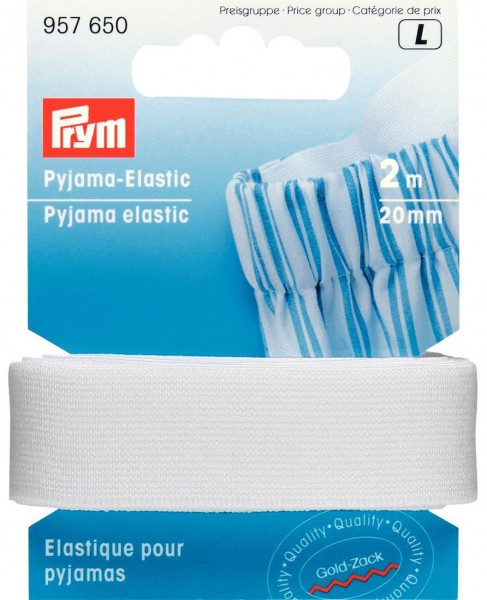 Prym Pyjama-Elastic 20 mm, 2 m
