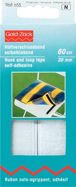 Prym Klettband selbstklebend 20 mm, 60 cm