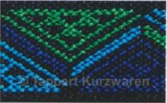 Prym Color-Elastic Dreiecke blau/grün 25 mm, 7 m