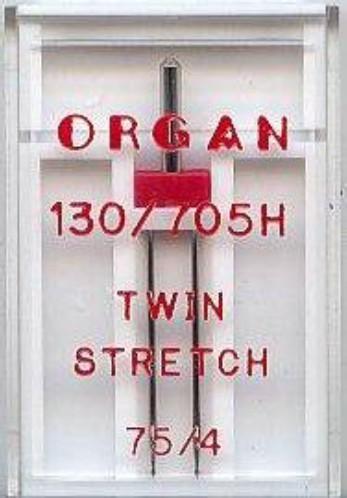 Maschinennadeln Organ 130/705 H Twin Stretch