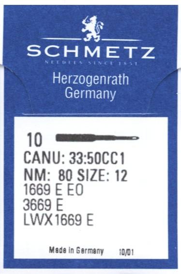 Maschinennadeln Schmetz 1669 E EO