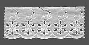 Baumwollspitze 55 mm, 8,5 m