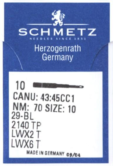 Maschinennadeln Schmetz LWx6T
