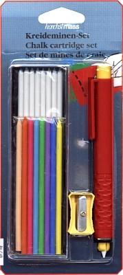 Set Druckhalter Kunststoff + Kreideminen