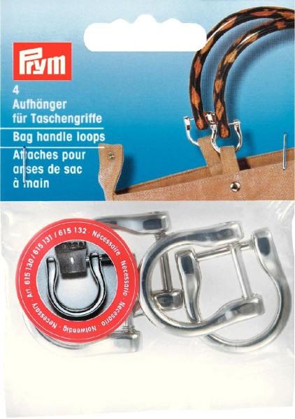 Prym Aufhänger für Taschengriffe 18 mm, 4 Stück