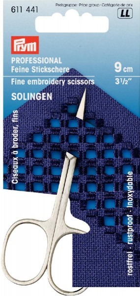 Prym Professional Stickschere Solingen 9 cm