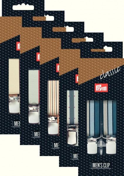 Prym Hosenträger Classic 25 mm, 10 Stück
