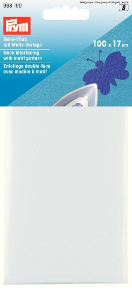 Prym Deko-Vlies 100 x 17 cm