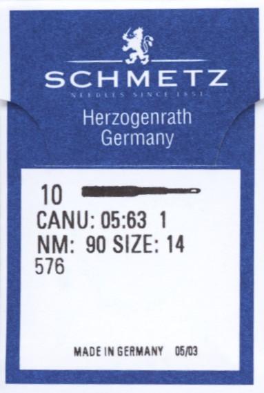 Maschinennadeln Schmetz 576
