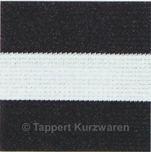 Prym Color-Elastic schwarz/weiß 50 mm, 7 m