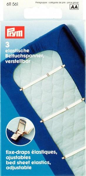 Prym Betttuch-Spanner 18 mm, 3 Stück