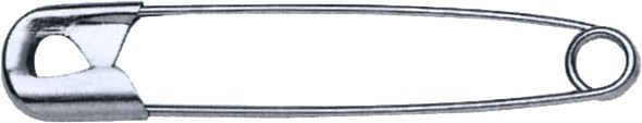 Sicherheitsnadeln 28 mm, 1.000 Stück