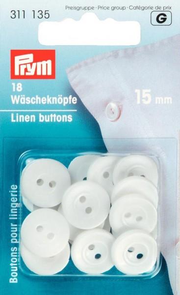 Prym Wäscheknöpfe Kunststoff