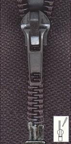 Reißverschluss Spirale extra breit teilbar 80 cm