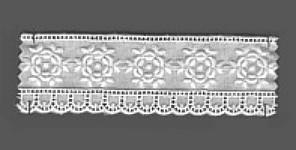 Baumwollspitze 40 mm, 8,5 m