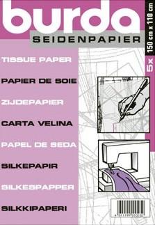 Burda Seidenpapier, 5 Stück