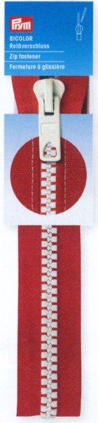 Reißverschluss Prym Krampe Bicolor teilbar 40 cm