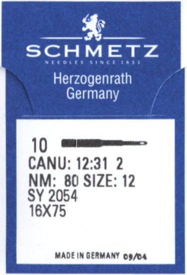 Maschinennadeln Schmetz 2054