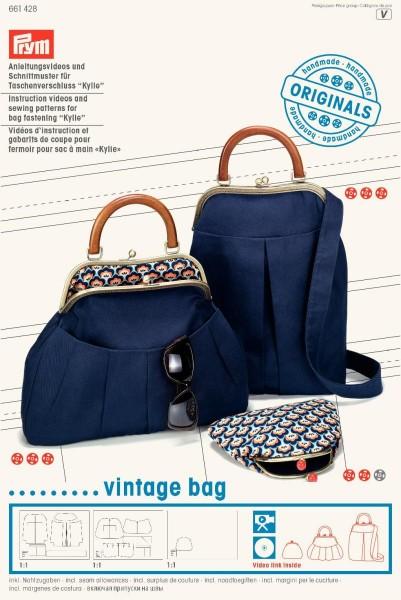 Prym Schnittmuster für Taschenverschluss Kylie Vintage Bag