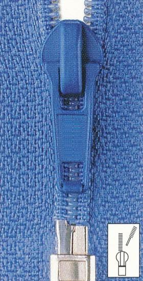 Reißverschluss Spirale teilbar 85 cm