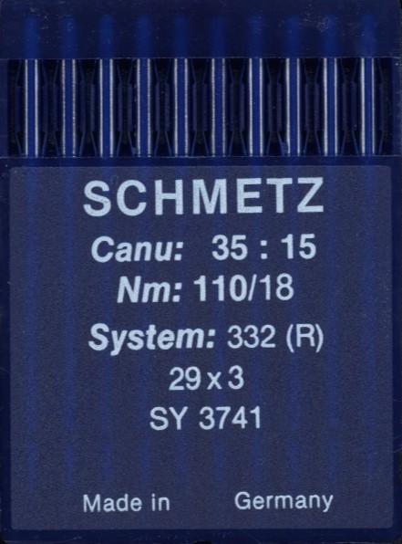 Maschinennadeln Schmetz 332 (R)