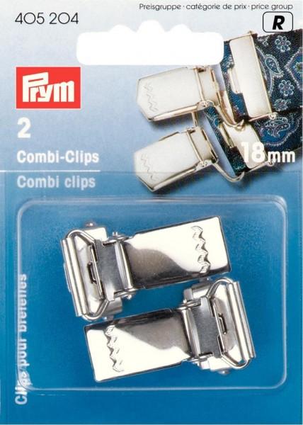 Prym Combi-Clips mit Klappschnalle 2 Stück