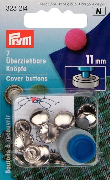 Prym Überziehbare Knöpfe Metall