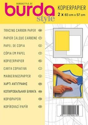 Burda Kopierpapier gelb/weiß, 2 Stück