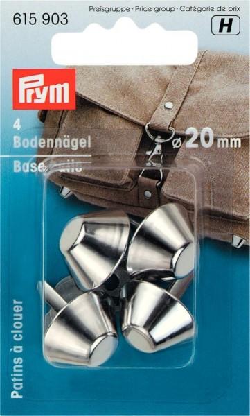 Prym Bodennägel für Taschen 20 mm, 4 Stück