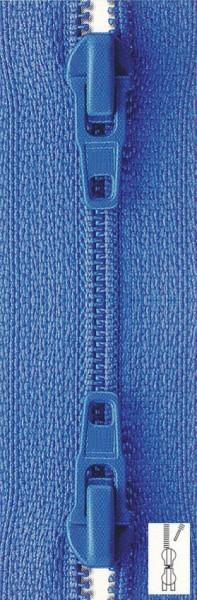 Reißverschluss Perlon Zweiwege extra schmal teilbar 80 cm