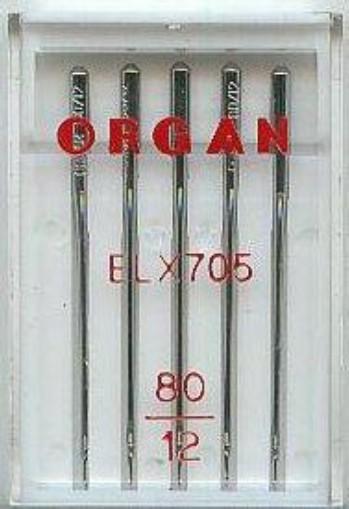 Maschinennadeln Organ ELx705 Chromium