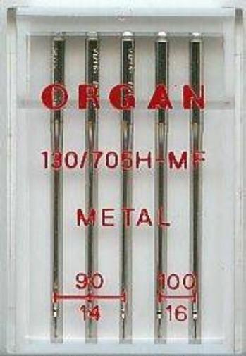 Maschinennadeln Organ 130/705 H-MF Metal