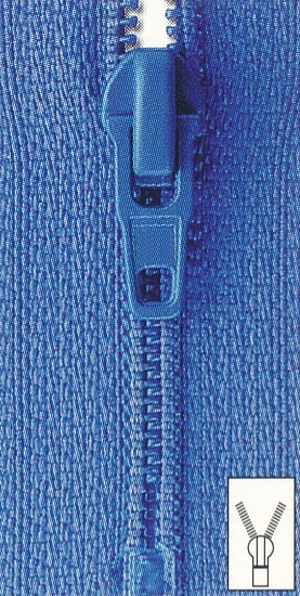 Reißverschluss Perlon unteilbar 22 cm